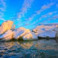 Весенний лед :: Алексей Баринов
