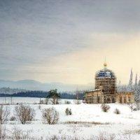 закат над церковью :: Елена Круглова