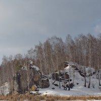 На слиянии реки Исеть и речушки Каменки. :: Михаил Полыгалов