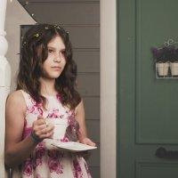 За чашкой утреннего чая :: Оксана Задвинская