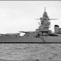 """French battlecruiser,fast battleship"""" Dunkerque"""", Spithead, May 1937. :: Александр"""