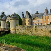 замок Семюр-ан-Валлон (chateau de Semur-en-Vallon) :: Георгий