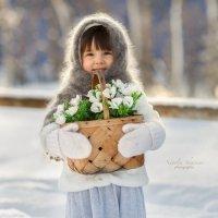 """""""А я к вам с весной!"""" :: Наталья Шигенина"""