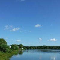 Небо над прудом :: swetalana Timofeeva