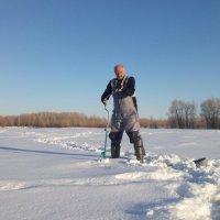 Последний самарский лёд :: Александр Алексеев