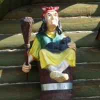 Бабка ешка из избушки :: vodonos241