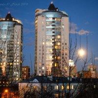 восход полной Луны :: StudioRAK Ragozin Alexey