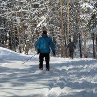 А лыжники рады возвращению Зимы :: Galaelina ***