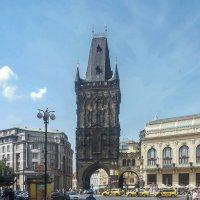 Пороховая башня. Прага. :: Олег Кузовлев
