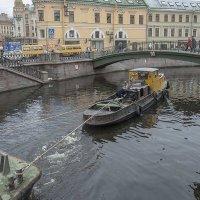 Санкт-Петербург.Сенной мост на канале Грибоедова. :: Игорь Олегович Кравченко