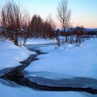 Нежные краски Чарышского заката :: Кристина Воробьева