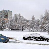 Февраль в городе :: Геннадий