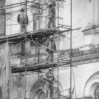 Ремонт фасада :: Алексей Федотов