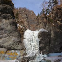 Водопад на реке Кынгарга :: Анатолий Иргл