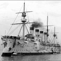броненосный крейсер Громобой . Австралия , 1904 год. :: Александр