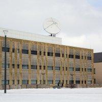 Здание с антенной :: Aнна Зарубина