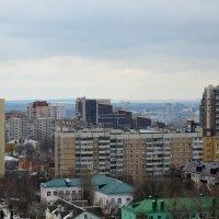 Белгород. Вид из высотки в парке им. Ленина :: Сергей Щеблыкин