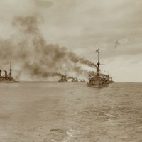 "маневры ""Kaiserliche Marine"", Пиллау-Данциг, 12 сентября 1901г. :: Александр"