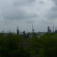 Нефтеперерабатывающий   завод   в   Надворной :: Андрей  Васильевич Коляскин
