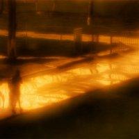 Пламенный закат. :: Вера Катан