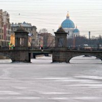 Мост Ломоносова. :: Марина Харченкова