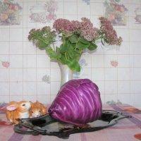 Зайчики и капуста :: Марина Таврова