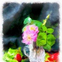 Роза со двора. :: Ирина Сивовол