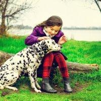 Ава и собачка Маруся :: Левиза