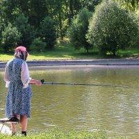 Московская рыбачка :: Ирина Via
