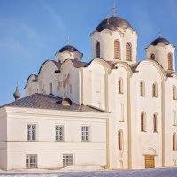 Великий Новгород. Николо-Дворищенский собор 12 в. :: Юлия Новикова
