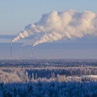 ветер гонит тучи пепла :: Игорь Козырин