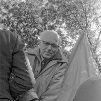 Академик Андрей Сахаров на митинге в Лужниках 21 мая 1989 г. :: Игорь Олегович Кравченко