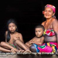 Племена Эмбера ( Панама) :: Victoria Rogotneva