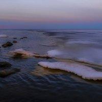 закат на Ладожском озере :: Георгий