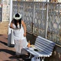 Невеста на перекуре :: Аркадий Басович