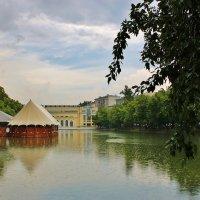 Дождь на Чистых прудах :: Natali Positive