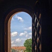 Вид  из  окна Успенского (Иверского) собора. :: Галина Каюмова