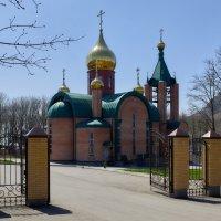 Лермонтов. Церковь Сергия Радонежского. :: Николай Николенко