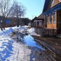 В деревне начало апреля :: Татьяна Ломтева