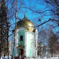Часовня Александра Невского в Северодвинске :: Александр Бычков