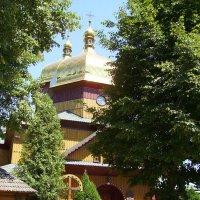 Деревянный   храм   в    Ямнице :: Андрей  Васильевич Коляскин