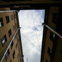 Небо над Питерскими дворами :: Галина Козлова