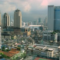 Высотки Бангкока :: ИРЭН@ .