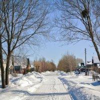 Деревенька моя,деревянная дальняя.. :: Алла Кочергина