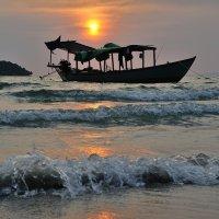 вечер на пляже :: Mikhail Afanasev