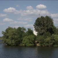 монастырский остров, Днепропетровск :: Alexandr Ch