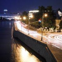 Прогулка по ночной Москве :: Natasha Zatinatskaya