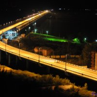 """Мост через р. """"Амур"""" в Хабаровске :: Павел Шкляев"""