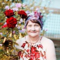 Мама и розы. :: Лариса Кояшова