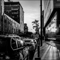 Городской закат... :: Наталья Rosenwasser